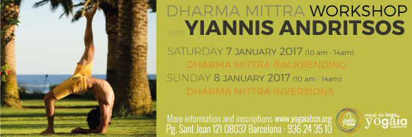 DHARMA MITTRA WORKSHOP with YIANNIS ANDRITSOS