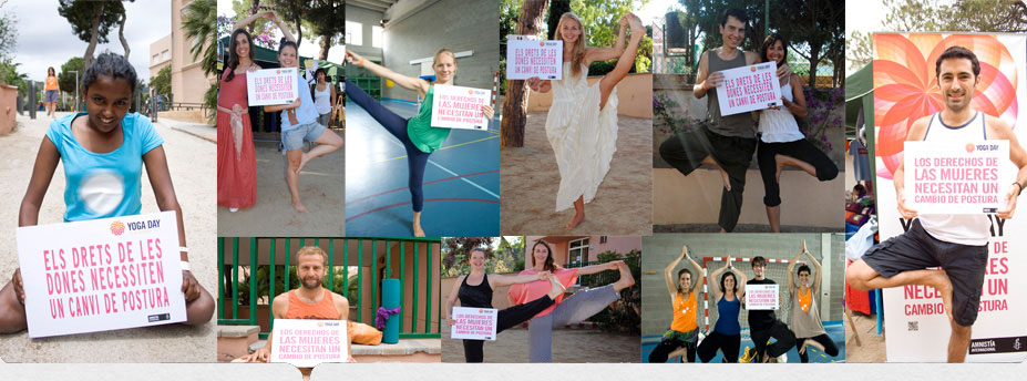 Yoga day 2014 ammistia internacional